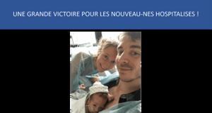 SOS PREMA  : congés paternité en cas d'hospitalisation du nouveau né applicatio au 1er juillet