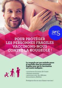 Pour protéger les personnes fragiles vaccinons-nous contre la rougeole !